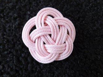 和 ブローチ(ピンク)の画像