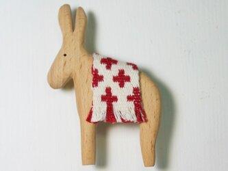 ブローチ donkeyの画像