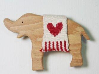 ブローチ little elephantの画像
