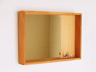 はこ鏡 欅(ケヤキ)材5の画像