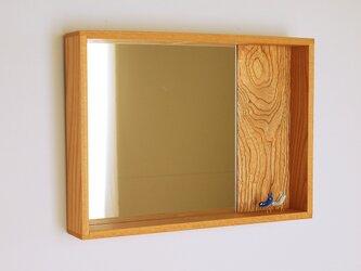 はこ鏡 欅(ケヤキ)材6の画像