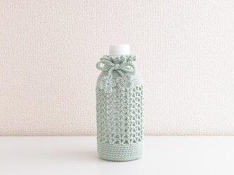 178.A 350mlと水筒ボトルカバー(グリーン系・千草色)の画像
