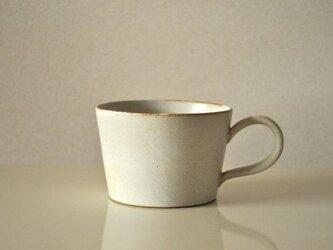 白釉スープカップの画像