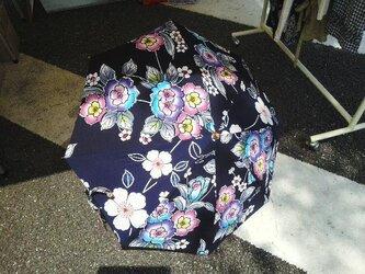 浴衣の日傘の画像