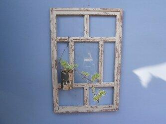 ☆アンティーク~シャビーな壁掛け~窓わく☆の画像
