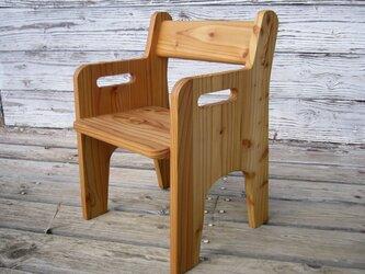 子ども椅子の画像