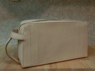 受注生産のセカンドバッグ(サイド持ち手付)の画像