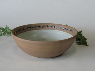 象嵌の丸鉢 (送料無料)の画像