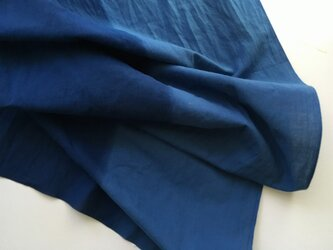 半分半分/青紺 [注染てぬぐい]の画像