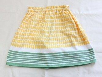 てぬぐいスカート 100サイズ とうもろこしの画像