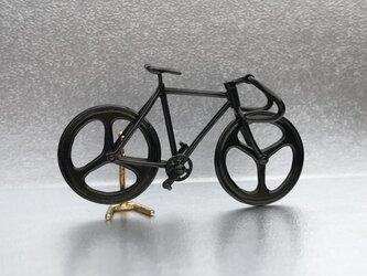 自転車ペンダント ドロップハンドル - Blackの画像