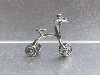 Tricycle pendant - Silverの画像