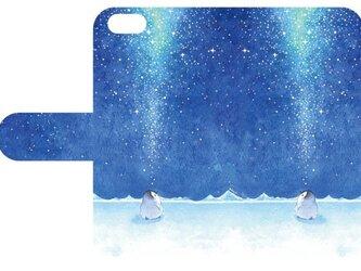 Phone・スマホ用手帳型ケース 宇宙に聞いての画像