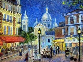 パリの街角 テルトル広場 アッパーライトの画像