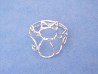 猫のリング(S様オーダー品)の画像