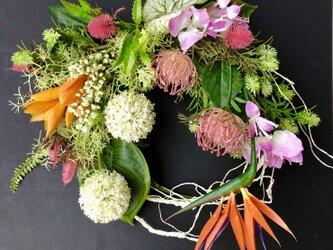 Wild flower wreathの画像