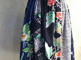 男女兼用浴衣地スカート170425-01の画像