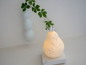 洋梨のmini lampの画像