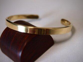 シンプル(Brass真鍮)バングル05の画像