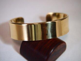 シンプル(Brass真鍮)バングル15の画像