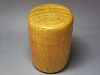 本桑造り茶筒の画像