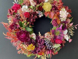 Autumn Branch wreathの画像