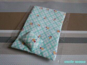 ドール用枕&掛布団SS・シングル用(薄)Candy Flower 1/12ミニチュア・ファブリックの画像
