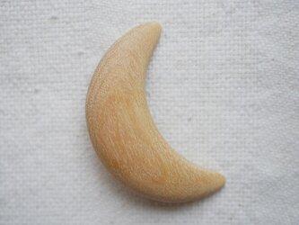 ブローチ moonの画像