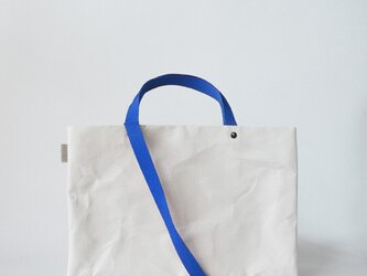 【N/no × E/zel.】SOME WAY LIGHT LESSON BAG P4(A4)_PP/BLUEの画像