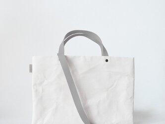 【N/no × E/zel.】SOME WAY LIGHT LESSON BAG P4(A4)_PP/SILVER GRAYの画像