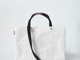 【N/no × E/zel.】SOME WAY LIGHT LESSON BAG P4(A4)_PP/BLACKの画像