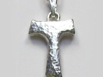 伝統的なモチーフ 小さな小さなタウ十字架 cc35sの画像