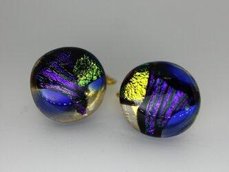 アラビアンナイト*ガラスのイヤリングの画像