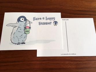 ペンギンの夏*2枚組の画像