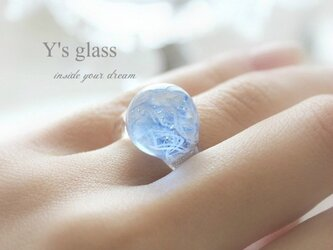 キャンディ ガラスのリングの画像