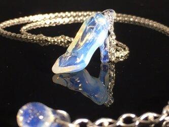 ガラスの靴 ネックレス オパール 受注生産の画像