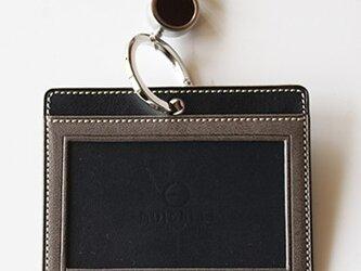 REID-02nvgr(ネイビー×グレイ) ストラップカラー・チョコの画像