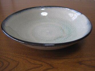 おふけ あおいろ 大皿の画像