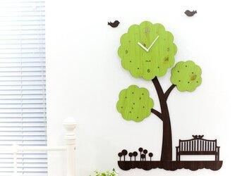 【ウォールクロック】TREEの画像