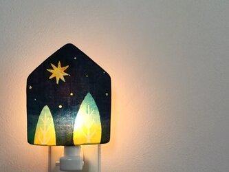 **再販  ** Night Lamp* ☆。.「夜の森へ お星さまver.」の画像