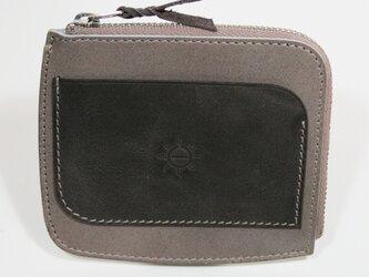 ポケットパース STPU-04gycg(グレイ×チャコールグレイ)の画像