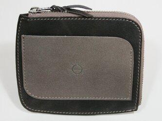 ポケットパース STPU-04cggy(チャコールグレイ×グレイ)の画像