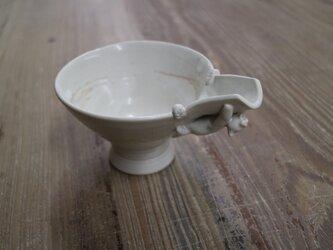片口しがみ付きにゃんこ鉢の画像