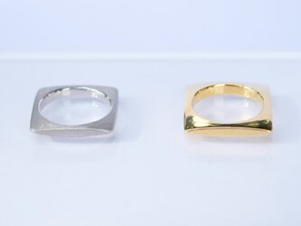 SQUARE Ring(SILVER)の画像
