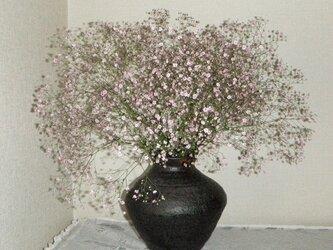 花器~黒釉の画像