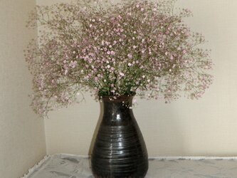 花器~鉄釉の画像