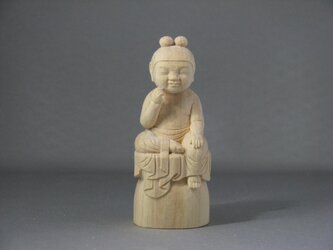 稚児仏像 弥勒菩薩の画像