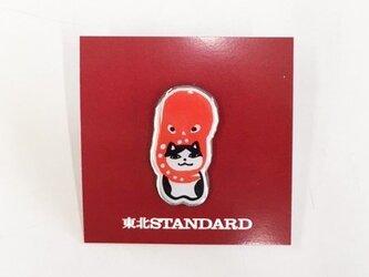 東北STANDARD ピンズ 相良人形ねこたこの画像