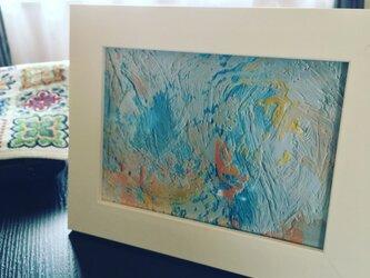 『No 1』Ten-Kei の油絵の複製プリント フレーム入りの画像