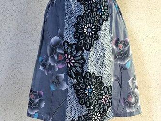 浴衣地スカート170707-01の画像